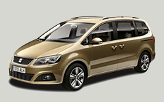 Klasse E: Seat Alhambra, Ford Galaxy 7-persoons