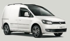 Klasse G: VW Caddy, Ford Transit 3m3