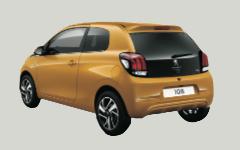 Klasse A: Peugeot 108, Toyota Aygo, VW Up