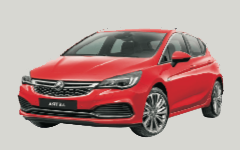 Klasse C: VW Golf, Citroën C4, Opel Astra