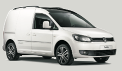 Klasse G: VW Caddy, Ford Transit 3m3